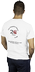 Men's White T-Shirt - back