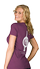 Plum t-shirt back