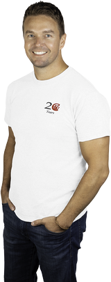 Men's White 20th Anniversary T-shirt
