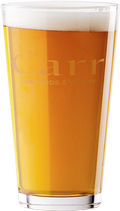 Carr Logo Pint Glass